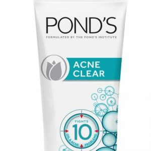 Ponds Complete Solutions Facial Wash Acne Clear White 50g
