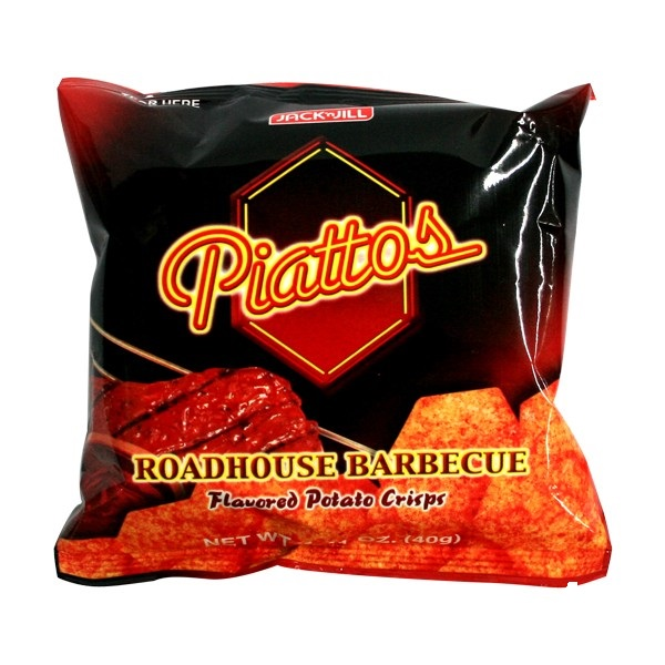 Piattos Roadhouse Barbecue Chips 40g