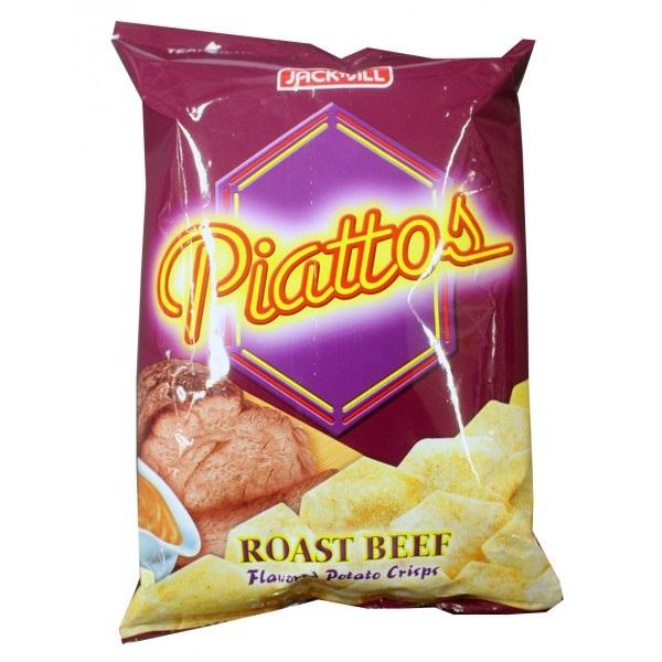 Piattos Chip Roast Beef 85gr